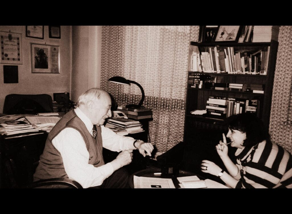 INNA ROGATCHI's TV DISCUSSION ON SIMON WIESENTHAL, HER FILM and MODERN-DAY ANTI-SEMITISM