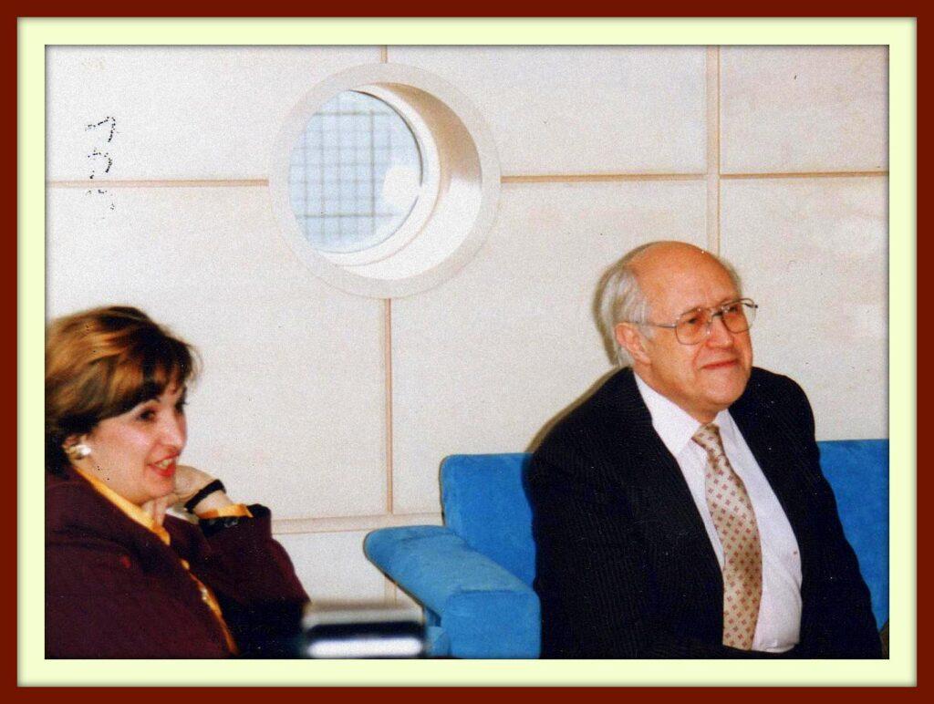 THE ROGATCHI FOUNDATION REMEMBERS DEAR FRIEND AND BENEFACTOR MAESTRO MSTISLAV ROSTROPOVICH