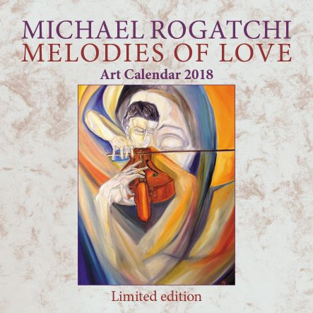 The Rogatchi Art Collection CALENDAR 2018 for CHARITABLE PURPOSES