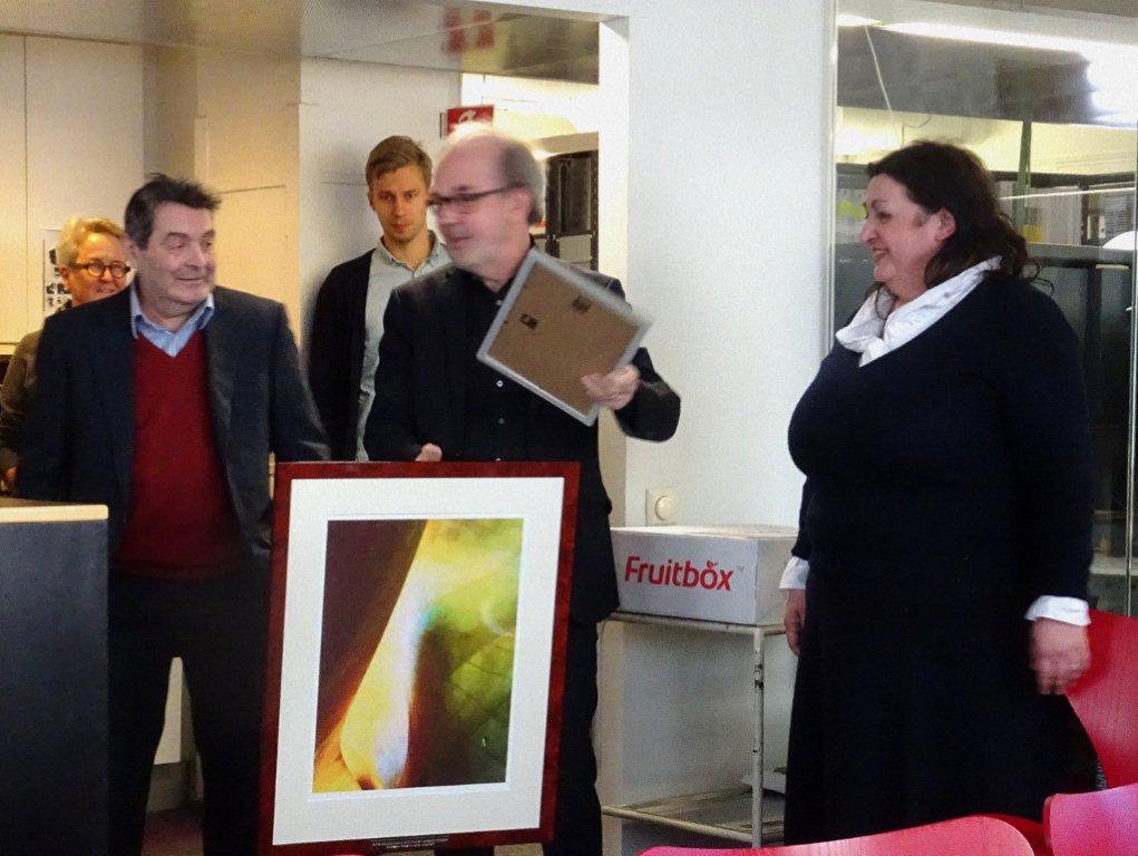 AWARDING PROFESSOR RAINER MAHLAMÄKI WITH THE HUMANIST OF THE YEAR 2017 AWARD