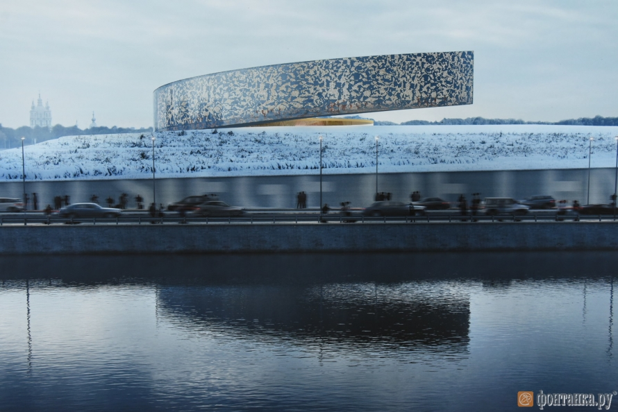 INNA ROGATCHI on the RAINER MAHLAMÄKI's PROJECT FOR THE MUSEUM OF THE SIEGE IN ST PETERSBURG