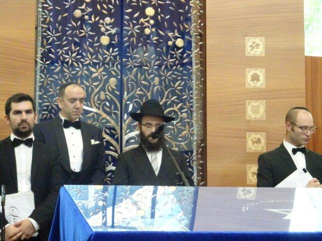 The ROGATCHI FOUNDATION PARTICIPATE IN THE CELEBRATION OF THE 10TH ANNIVERSARY OF THE NEW TALLINN SYNAGOGUE IN ESTONIA