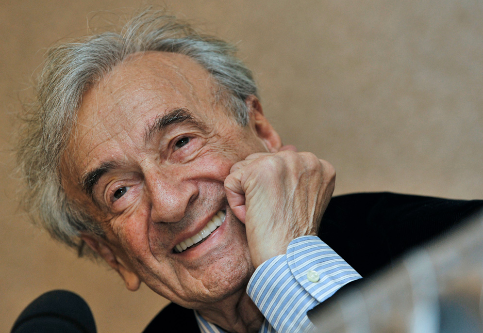 ELIE WIESEL, MY MAN FOR ALL SEASONS. Inna Rogatchi's essay on the first anniversary of Elie Wiesel's passing